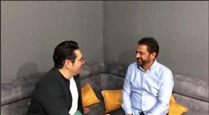 محمدرضا احمدی و فیروز کریمی بعد از سانحه