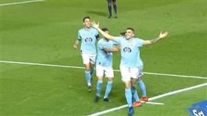 گل اول سلتاویگو به بارسلونا ( گومز)