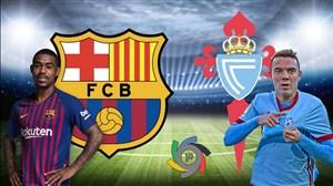 خلاصه بازی سلتاویگو 2 - بارسلونا 0 (گزارش اختصاصی)
