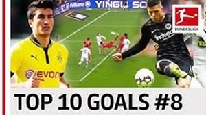 10 گل برتر بازیکنان شماره هشت در بوندسلیگا