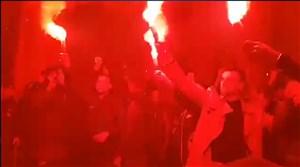 آتش بازی یاران آزمون پس از قهرمانی در لیگ روسیه