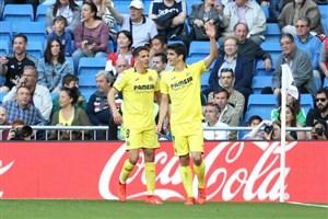 گل دوم ویارئال به رئال مادرید توسط ژائوم کاستا