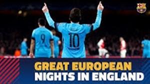 به یاد ماندنی ترین نمایش های بارسلونا در انگلیس