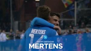 بمناسبت تولد ستاره بلژیکی ناپل ؛ دریس مرتنز