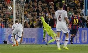 سالروز گل زیبای لیونل مسی به نویر در لیگ قهرمانان اروپا