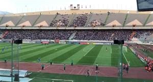 حضور کمتر از انتظار هواداران استقلال در ورزشگاه آزادی