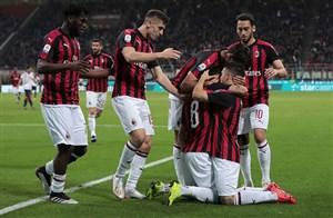 پیروزی میلان مقابل بولونیا در دیدار پرحاشیه