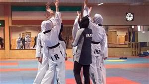 آمادگی تیم ملی تکواندو بانوان برای کسب سهمیه المپیک