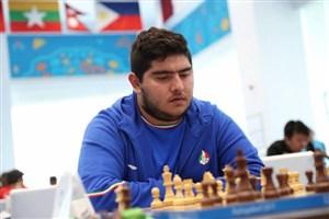 دومین شکست مقصودلو در مسابقات شطرنج سوئد