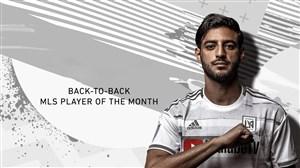 کارلوس ولا؛برترین بازیکن ماه آوریل لیگ MLS