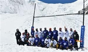 راگبی در کوه های اورست برای ثبت در گینس