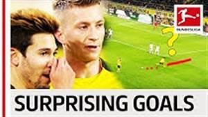 5 گل برتر غافلگیر کننده ی تاریخ بوندسلیگا