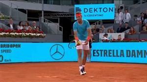شکست رافائل نادال در مسابقات تنیس مادرید