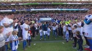 مراسم خداحافظی کاپیتان مورنو با هواداران برایتون