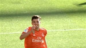 گل اول رئال مادرید به سوسیداد(دیاز)