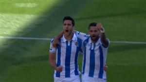 گل اول سوسیداد به رئال مادرید(مرینو)
