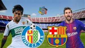 خلاصه بازی بارسلونا 2 - ختافه 0