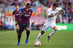 بارسلونا 2 - 0 ختافه؛ پیروزی بی دردسر