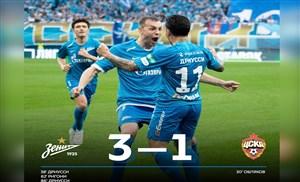 گلهای بازی زنیت 3 - زسکا مسکو 1