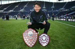 سون هیونگ مین بهترین بازیکن فصل تاتنهام