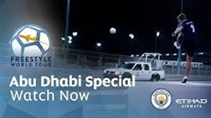 مرحله ششم تور جهانی فوتبال فری استایل در ابوظبی 2019