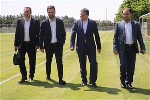 سرمربی جدید تیم ملی وارد ورزشگاه آزادی شد