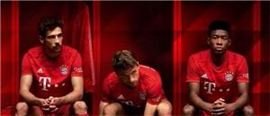 رونمایی از پیراهن فصل آینده بایرن مونیخ(عکس)