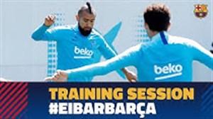 تمرینات امروز بارسلونا (26-02-98)