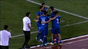 گل اول استقلال به سپیدرود (مهدی قائدی)