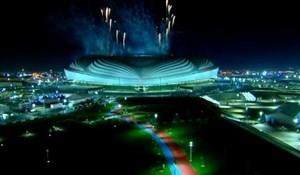 مراسم رونمایی از ورزشگاه الوکره قطر