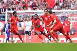 بایرن 5 - 1 فرانکفورت؛ جام به صاحبش رسید!