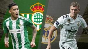خلاصه بازی رئال مادرید 0 - بتیس 2