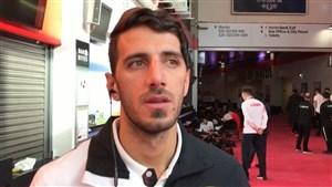 صحبت های سروش احمدی پس از کسب مدال نقره