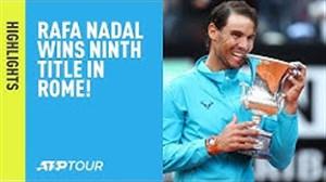 قهرمانی نادال پس از شکست جوکوویچ (تنیس رم)