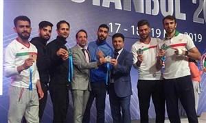 تاریخ سازی تیم ملی کاراته در استانبول ترکیه