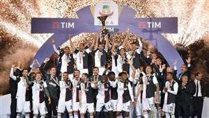 جشن کامل قهرمانی یوونتوس در فصل 19-2018