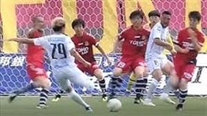 گل به سبک فوتبالیستها در لیگ ژاپن