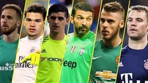 10 گلر برتر دنیا در فصل 19-2018