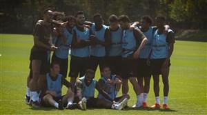 تمرینات آرسنال برای فینال لیگ اروپا