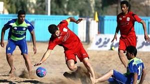 آغاز دور برگشت لیگ برتر فوتبال ساحلی