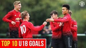 10 گل برتر آکادمی منچستریونایتد در فصل 19-2018