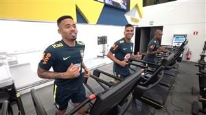تمرینات بدنسازی تیم ملی برزیل (02-03-98)