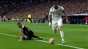 برترین تکنیک های رئال مادرید در فصل 19-2018