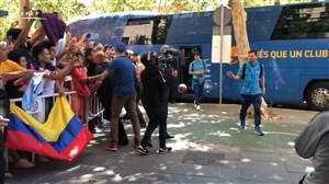 فینال کوپادلری؛ سفر تیم بارسلونا برای تقابل با وانسیا