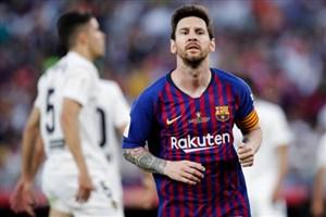 گل اول بارسلونا به والنسیا (مسی)