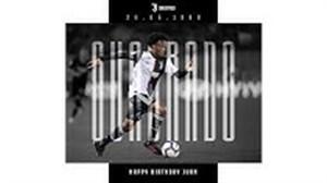 تبریک باشگاه یوونتوس بمناسبت تولد کوادرادو