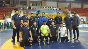 نایب قهرمانی کشتی فرنگی ایران در جام تورلیخانوف