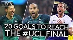 20 گل سرنوشت ساز تاتنهام در لیگ قهرمانان اروپا