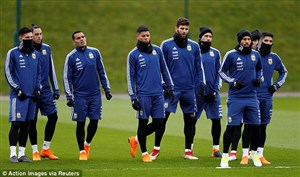اضافه شدن ستارگان تیم ملی آرژانتین به تمرینات (08-03-98)