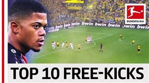 10 ضربه کاشته برتر در فصل 2018 -2019 بوندسلیگا